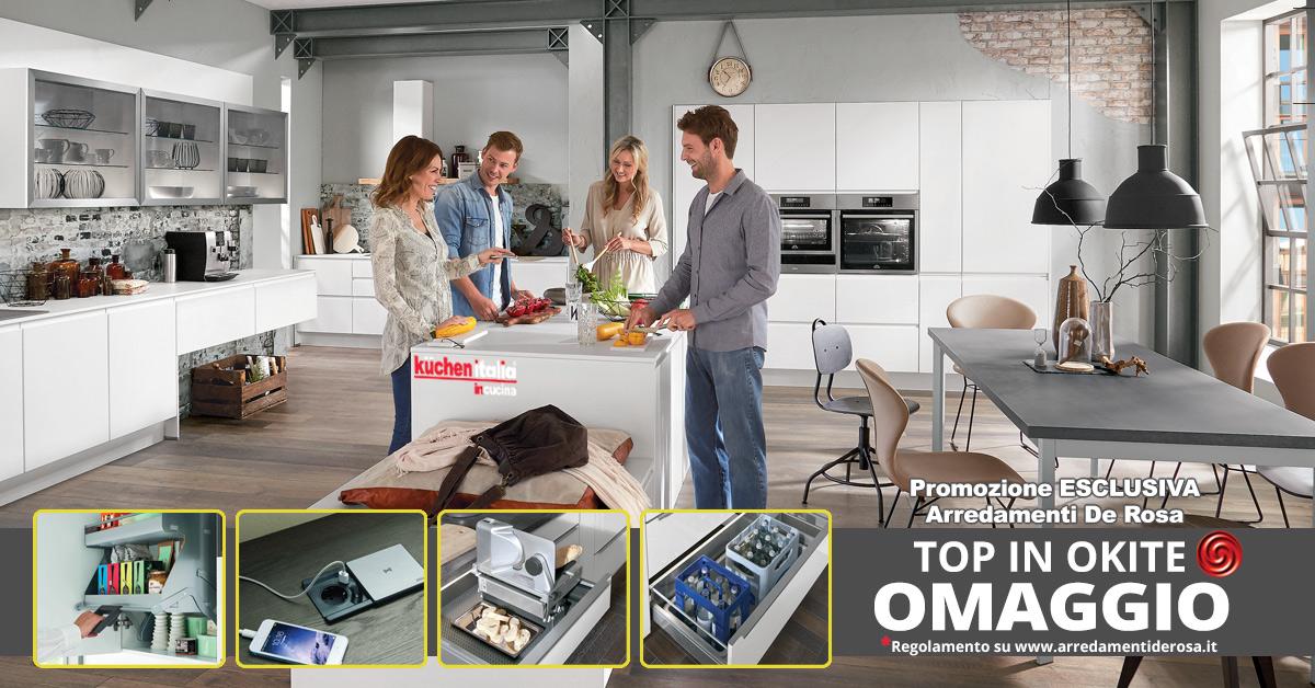 Promozione Top Okite in Omaggio sulle Cucine De Rosa | Arredamenti ...