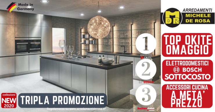 Promozione Veneta Cucine 2020.Tripla Promozione Sulle Cucine Kuchen Italia Arredamenti
